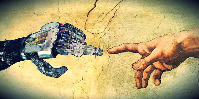 Logo dedo Dios y mecánico